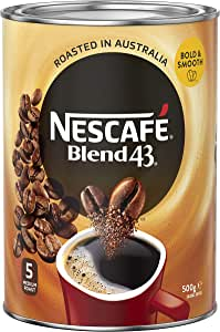 NESCAFÉ Blend 43 Original Instant Coffee 500g Tin