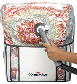 Compactor Space Saver Vacuum Storage Solution Vacuum Bag to Protect Clothes, Pillows, Duvets,