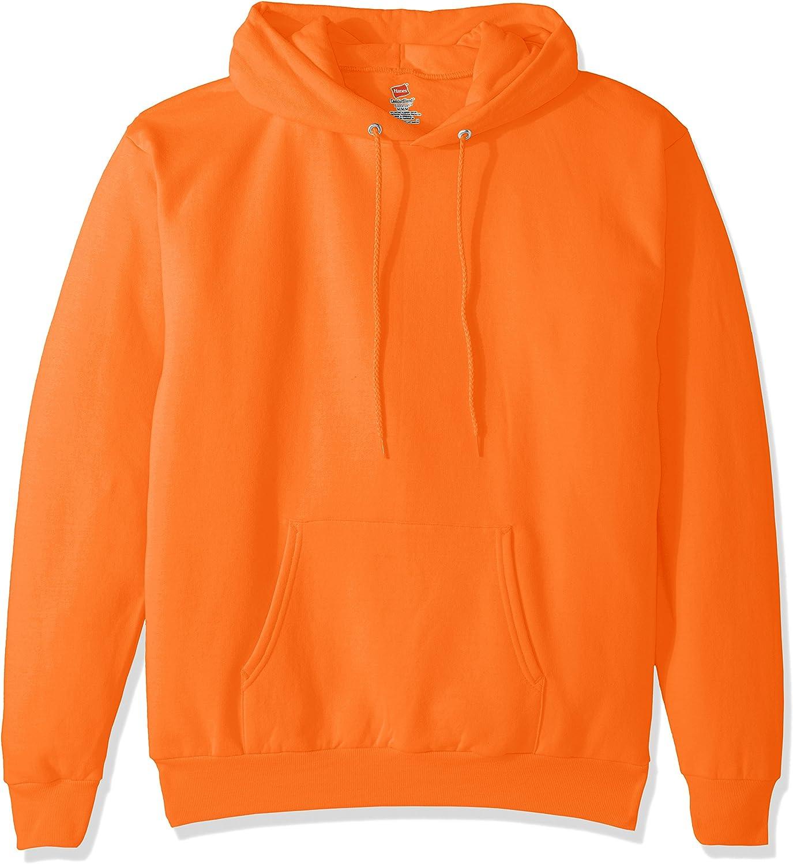 Hanes Mens Pullover Ecosmart Fleece Hooded Sweatshirt at  Men's Clothing store