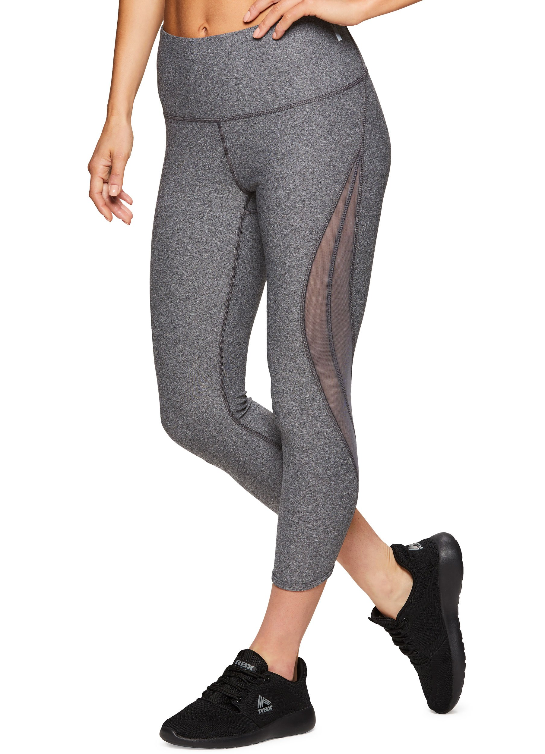 2362a69a2e Galleon - RBX Active Women's Workout Yoga Leggings 18 Charcoal M