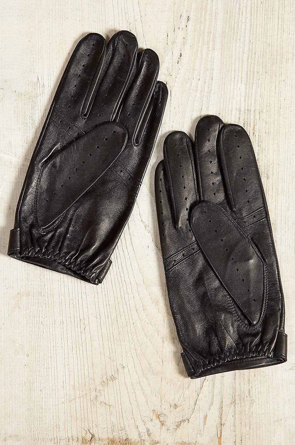 James bond leather driving gloves - Men S Dents Fleming James Bond Spectre Leather Driving Gloves Black Size Small 7 5 8 At Amazon Men S Clothing Store