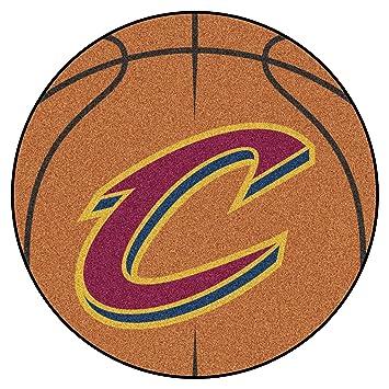 Beautiful FANMATS NBA Cleveland Cavaliers Nylon Face Basketball Rug