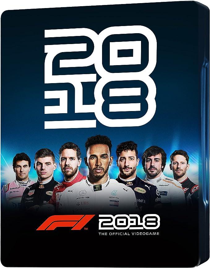 Steelbook F1 2018 (No incluye juego): Amazon.es: Videojuegos