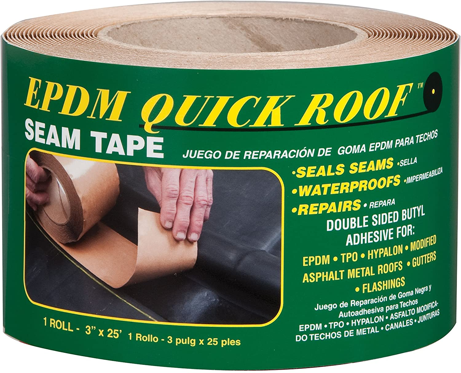 Cofair BST325 EPDM Quick Roof Seam Tape - 3