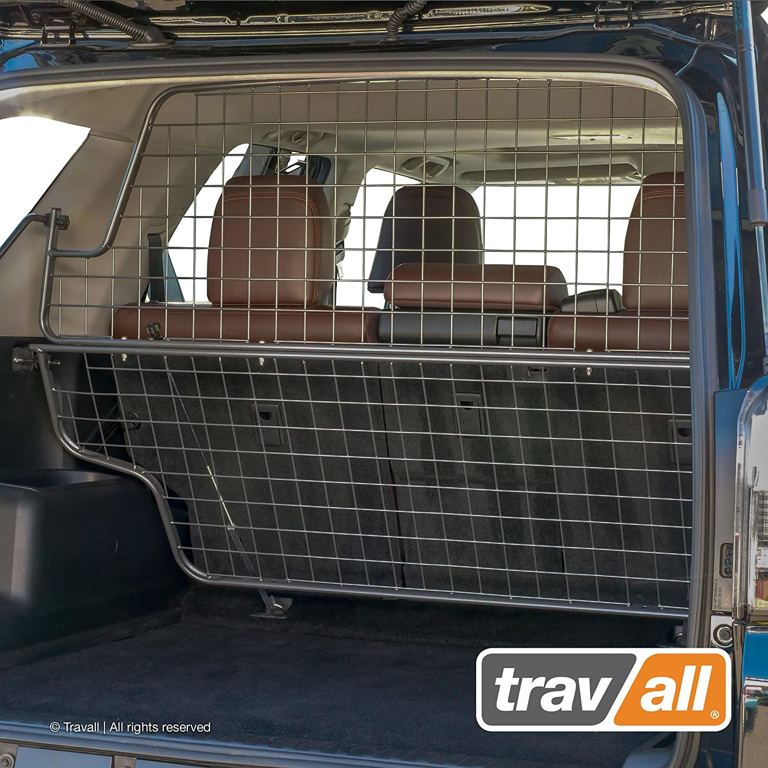 Travall Guard Compatible with Toyota 4Runner 5 Seat Models Rattle-Free Steel Pet Barrier TDG1576 2009-Current