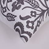 Bridgeso Square Throw Pillow Cover Anchor Rudder
