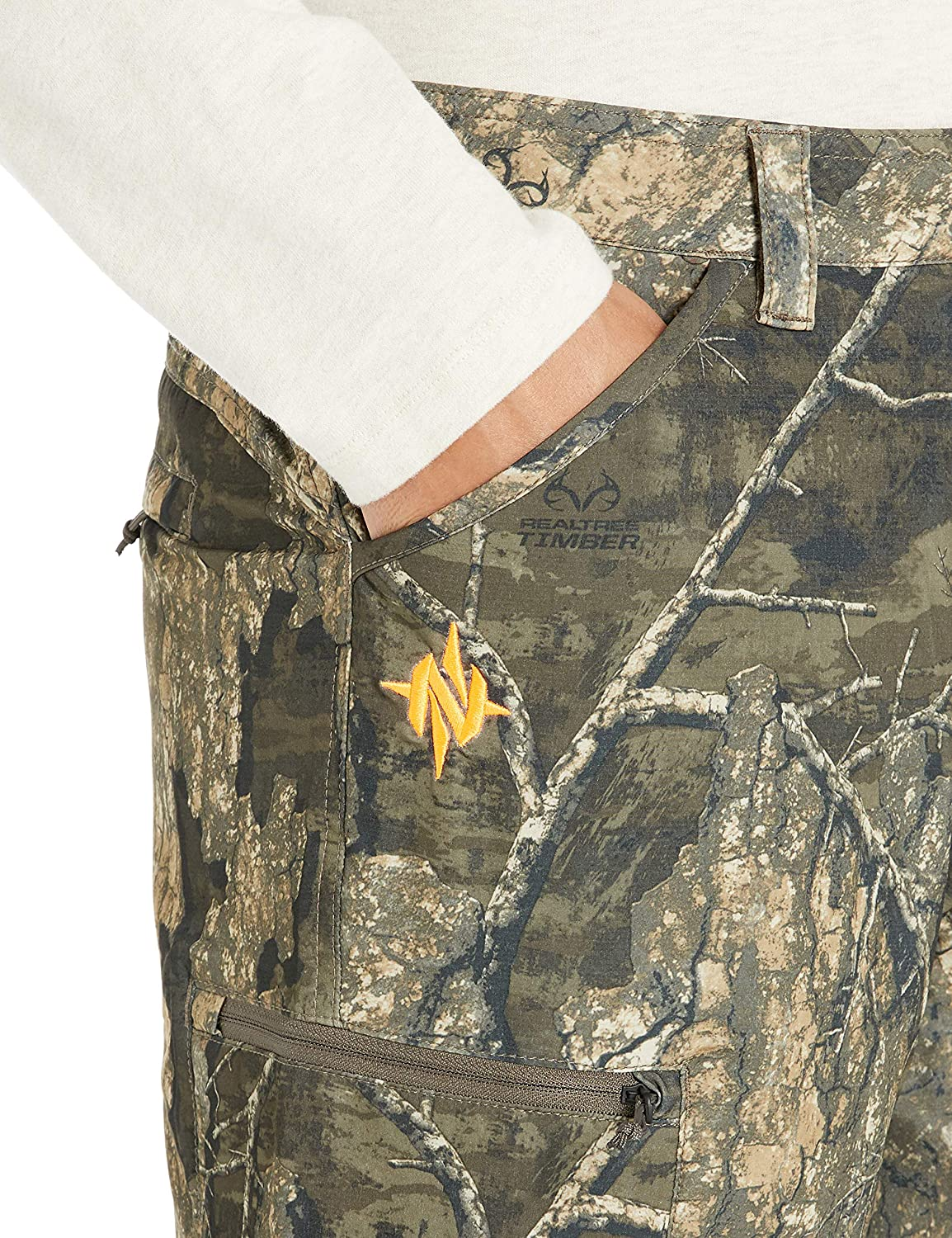 Scent Suppressing /& Anti-Microbial with Silent Fabric Nomad Mens Stretch-lite Pant