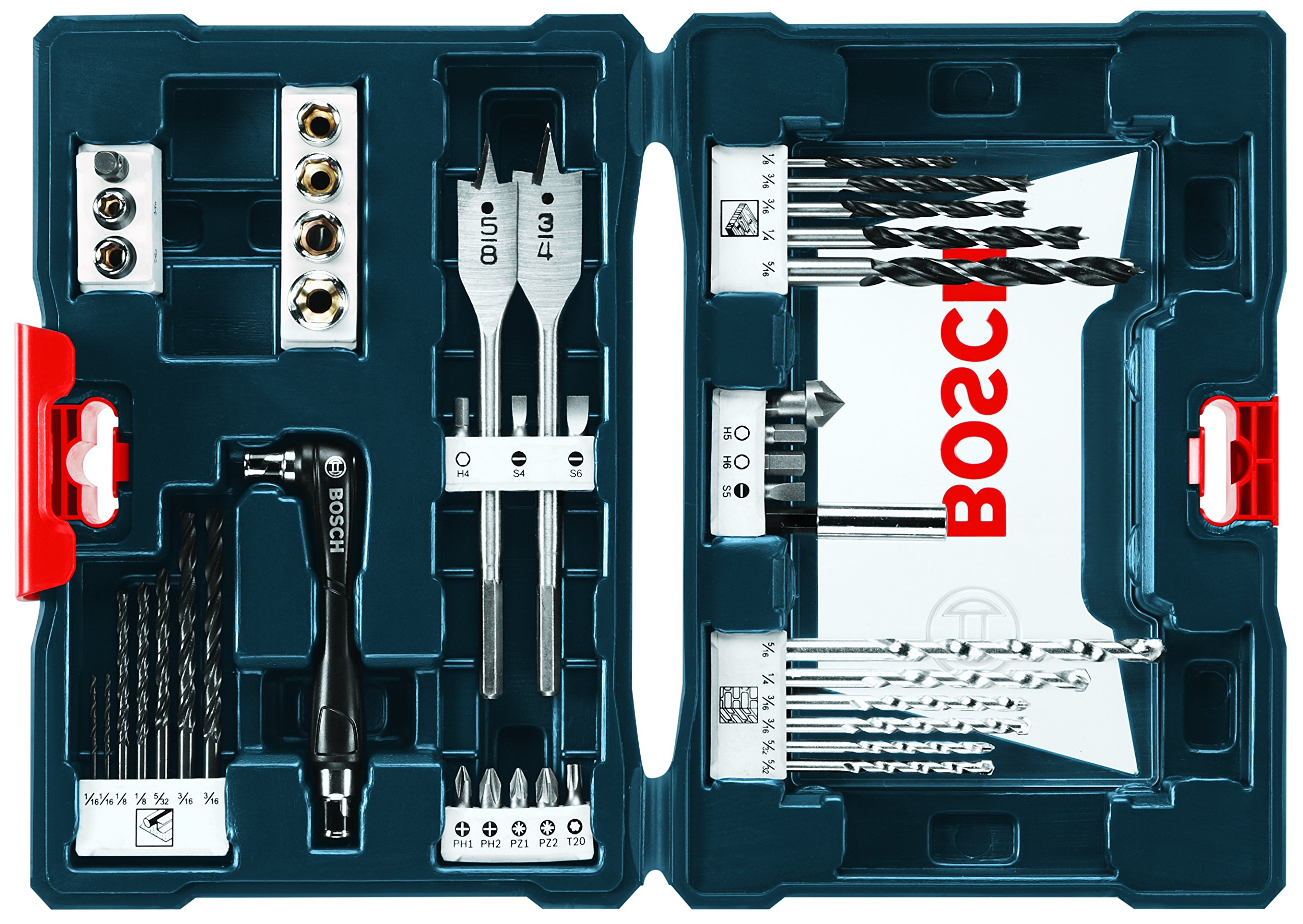 Bosch MS4041 41-Piece Drill and Drive Bit Set by Bosch