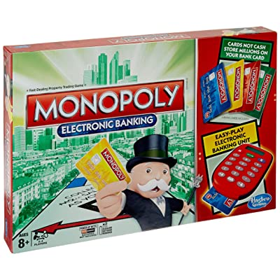 Monopoly Electronic Banking Game: Toys & Games