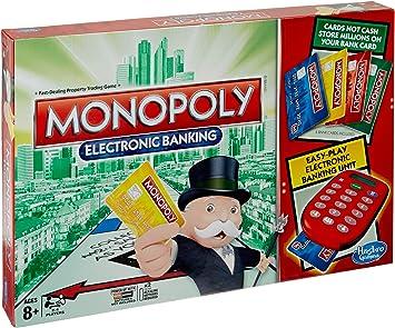 Hasbro Gaming - Monopoly electrónico, Juego de Mesa (versión en inglés): Hasbro Gaming: Amazon.es: Juguetes y juegos