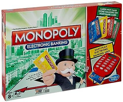 Amazon. Com: hasbro monopoly electronic banking, canada edition.