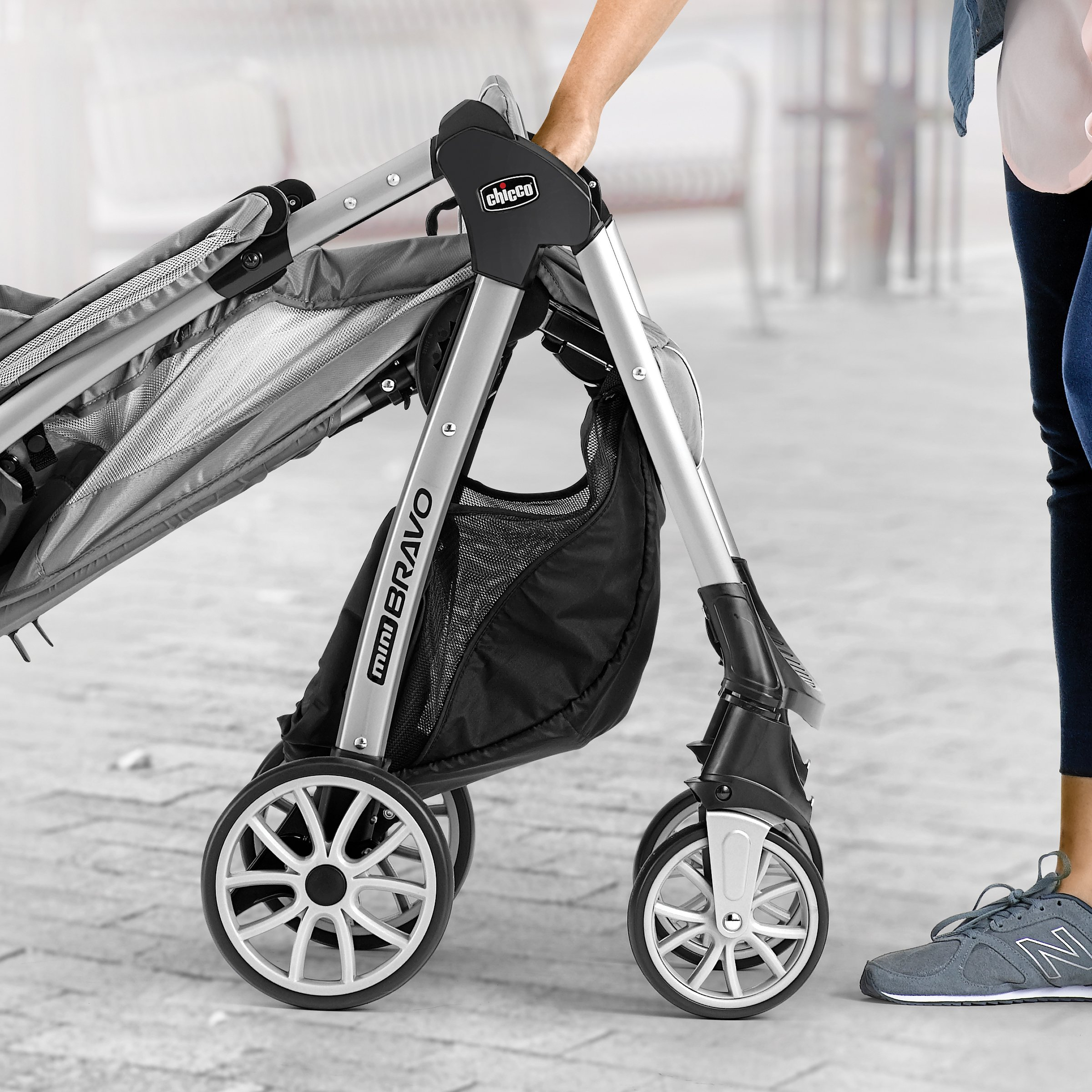 Chicco Mini Bravo Lightweight Stroller, Mulberry by Chicco (Image #4)