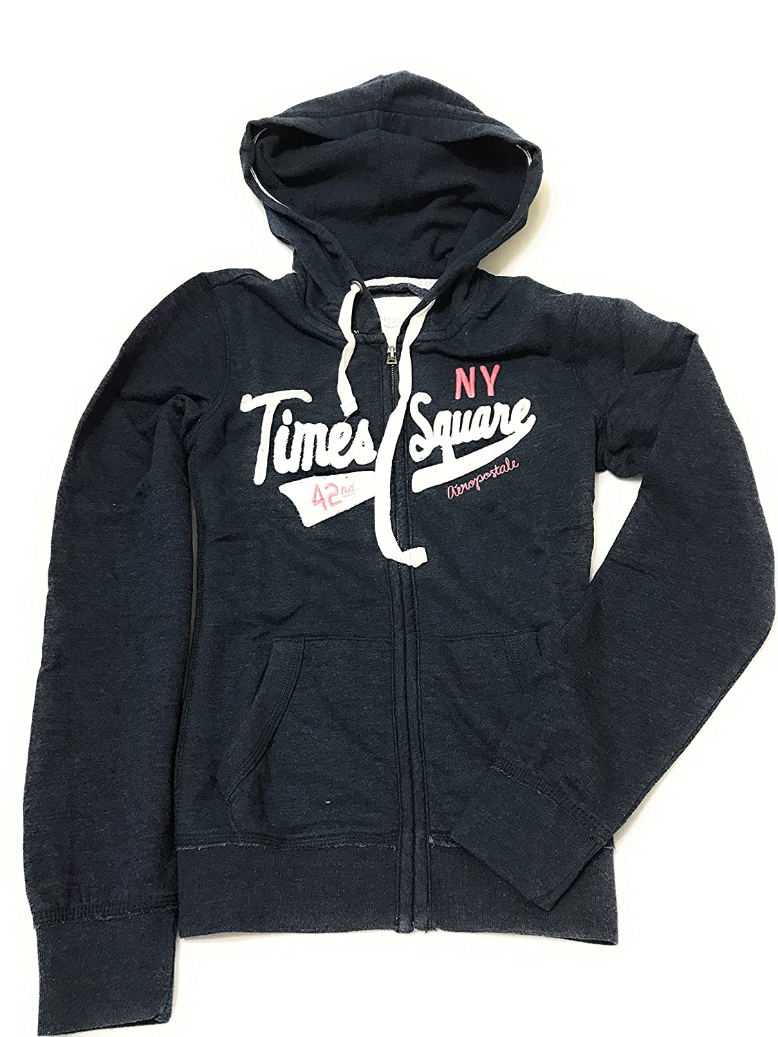 Aeropostale Women Pullover Hoodie With Logo Time Square 42nd St Style 2343