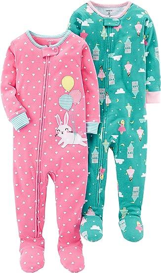 Carters Bébés Filles Ensemble de Pyjama - Multicolore ...