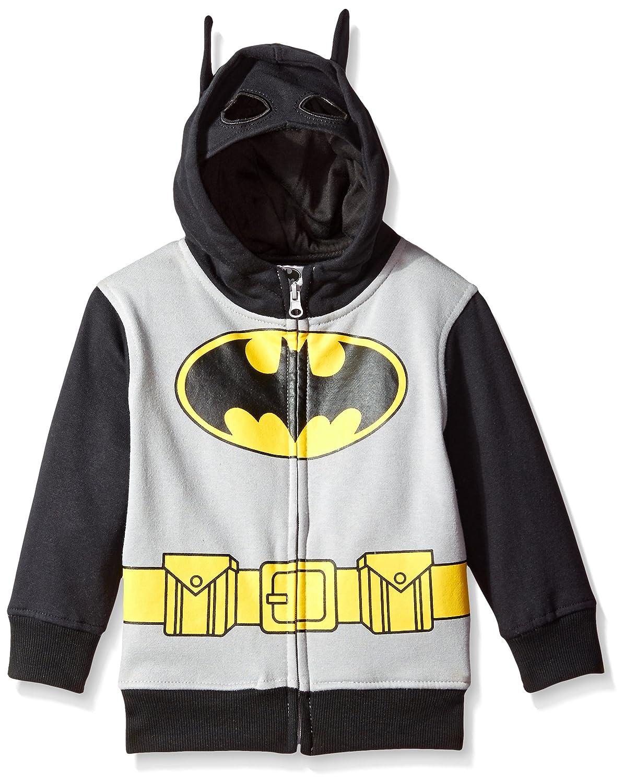 DC Comics Batman Boys' Character Hoodie Gray 2T 13OL