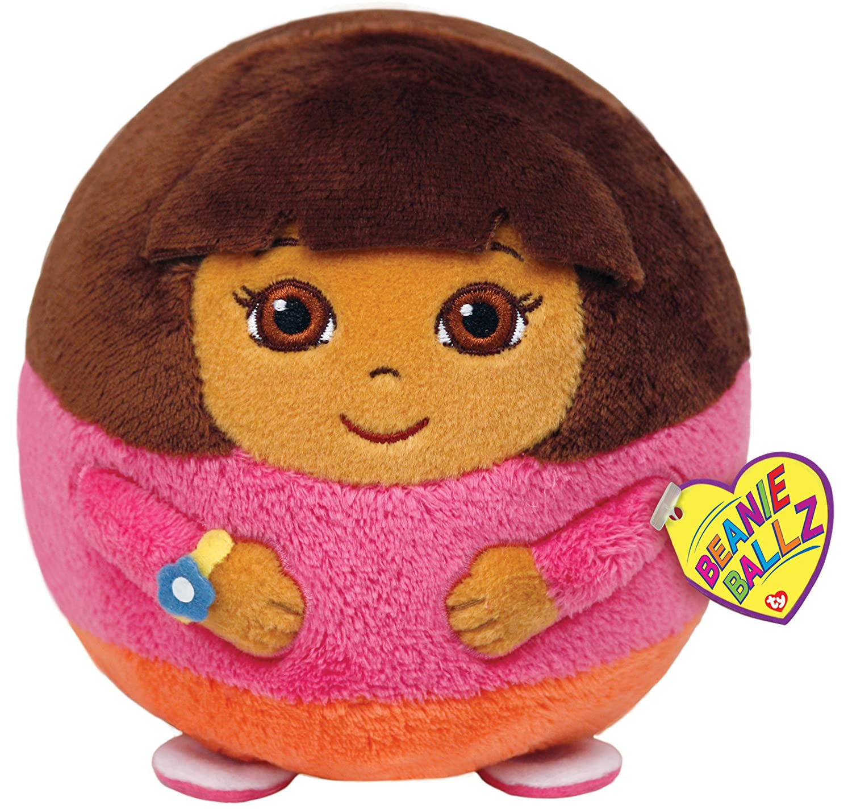 a347091ea54 Amazon.com  Ty Beanie Ballz Dora Plush - Large  Toys   Games