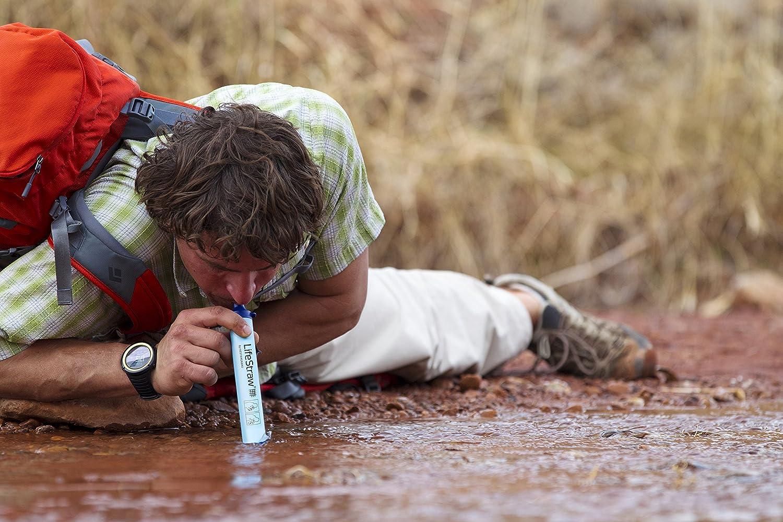 LifeStraw persönlicher Wasserfilter für Wandern, Wandern, Wandern, Camping, Reisen, Backpacking, Outdoorsport und Notfallbereitschaft. Entfernt Bakterien und Protozoen. 5er, 2er oder 1er Pack B014PHRXOY    | Outlet Online  5769c0