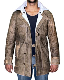 421852a50be5 Genuine Swedish Mens Bomber Jacket - Shearling Leather Winter Jacket Coat  for Men
