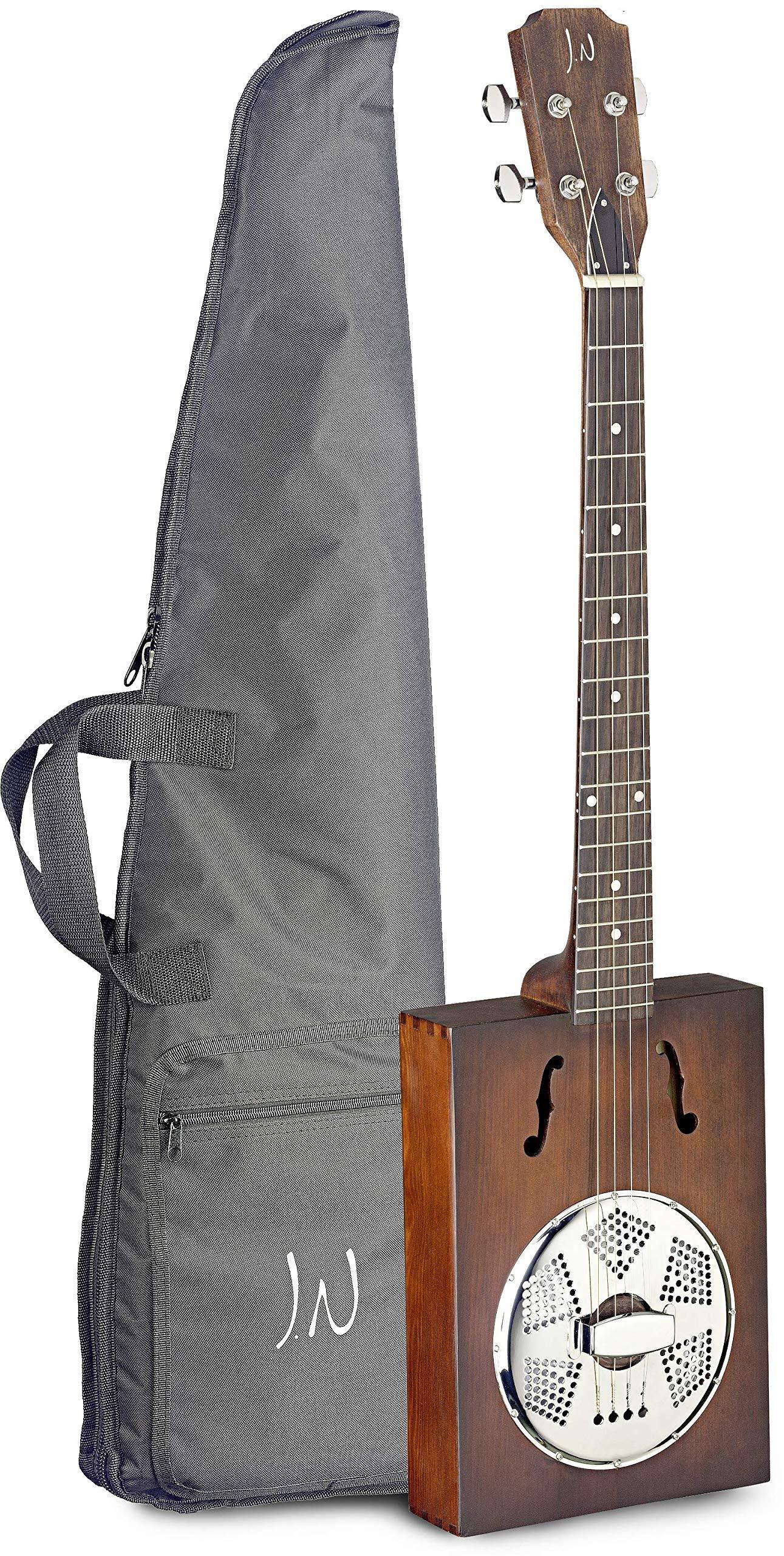 J.N. Guitars 4 String Resonator Guitar Right (CASK-PUNCHEON-1 by J.N. Guitars