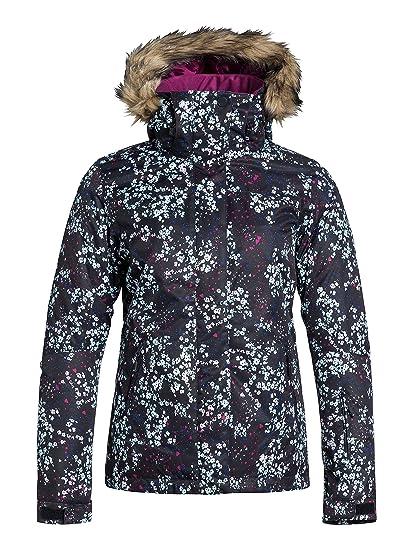 Roxy Jet Ski JK - Chaqueta de Nieve para Mujer, Color Negro, Talla XL