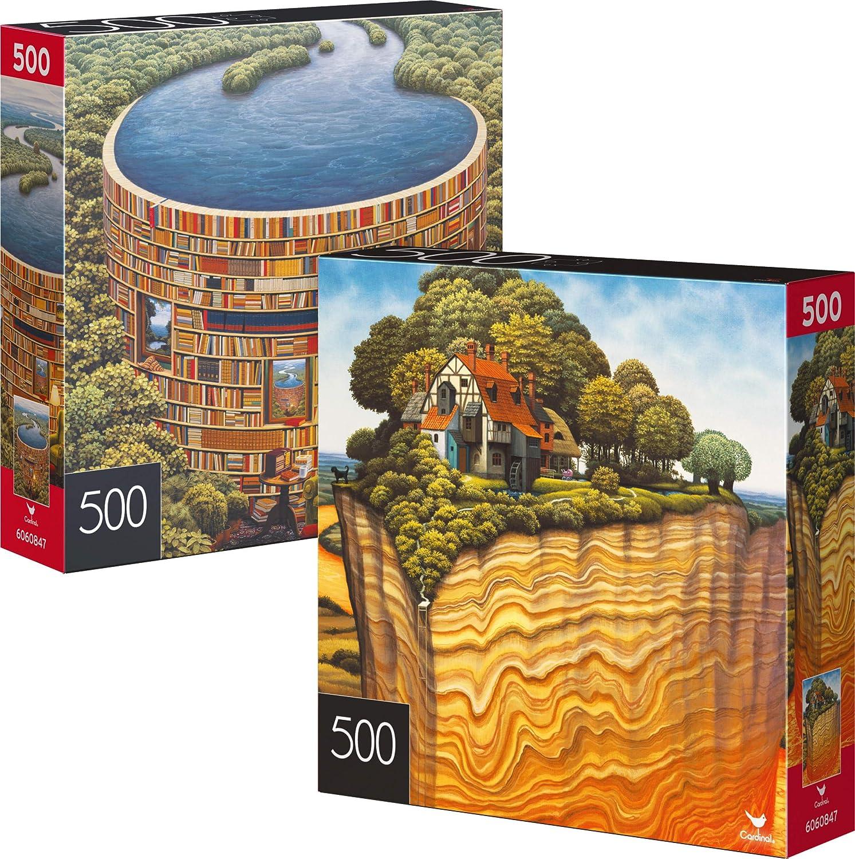 NEW Cardinal 500 Piece Jigsaw Puzzle ~ Wheel