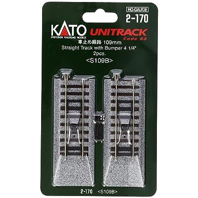 """Kato USA, Inc. HO 109mm 4-1/4\"""" Straight Bumper (2): Toys & Games [5Bkhe0806765]"""