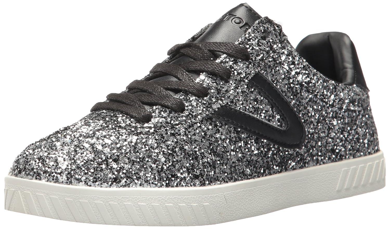 Tretorn Women's Camden5 Sneaker B072K5LPPJ 11 B(M) US|Silver Glitter