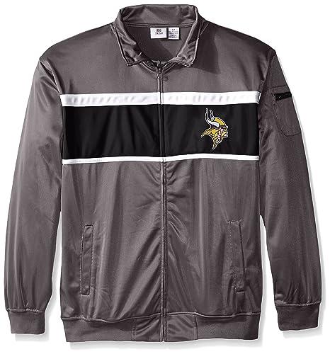 brand new ce1fc 950b1 Profile Big & Tall NFL Men's Vikings Tricot Track Jacket