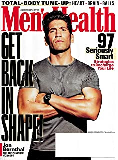 5a2469bd44d Men s Health Magazine February 2018  Amazon.com  Books