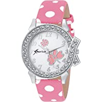 Rich Club Analogue White Dial Women's & Girl's Watch - Pink-Lui-2