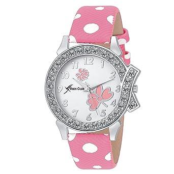 f6d0b77c66 Buy Rich Club Analogue White Dial Women's & Girl's Watch - Pink-Lui ...
