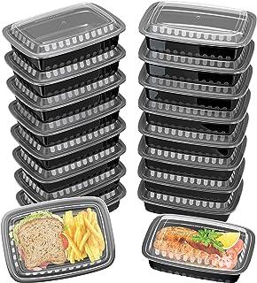 c42086f956c3 Amazon.com: BWS Translucent Craft Food Meal Prep Slime Storage Deli ...