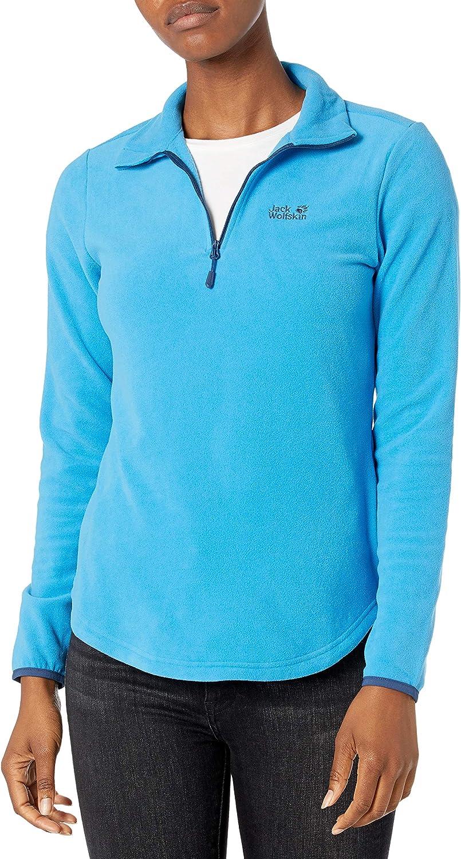 Jack Wolfskin Women's Echo Lightweight Fleece Sweater 100% Recycled