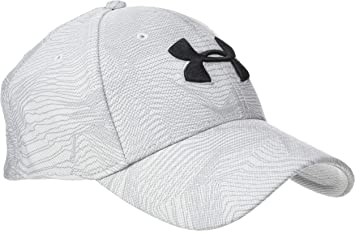 Under Armour Mens Printed Blitzing 3.0 Gorra, Hombre, Gris, S/M ...