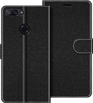COODIO Funda Xiaomi Mi 8 Lite con Tapa, Funda Movil Xiaomi Mi 8 ...