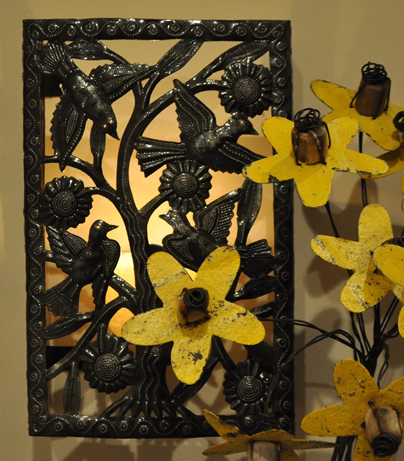 Wall Sconce Light Cover Tree of Life, Luminaria 14\