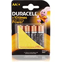 Duracell Batteries- AA, 4 pcs Pack