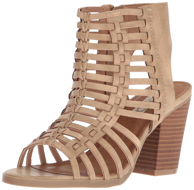 c887894992ea1 Sugar Women's Vivid Peep Toe Side Cut Outs Heeled Sandal: Amazon.ca ...
