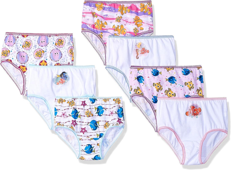 Disney Girls Finding Dory Toddler 7pk Panty Panties