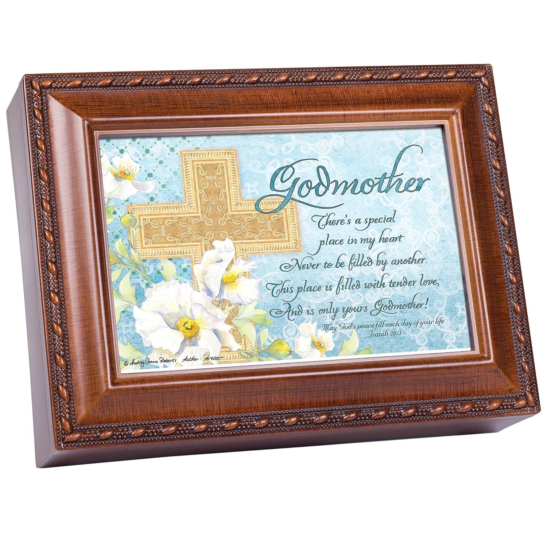 【高額売筋】 Godmother Woodgrain Inspirational Cottage Garden Traditional Inspirational MusicボックスPlays Garden Ave Cottage Maria B0090R4YLK, 三好佛具店:cc2b219c --- arcego.dominiotemporario.com