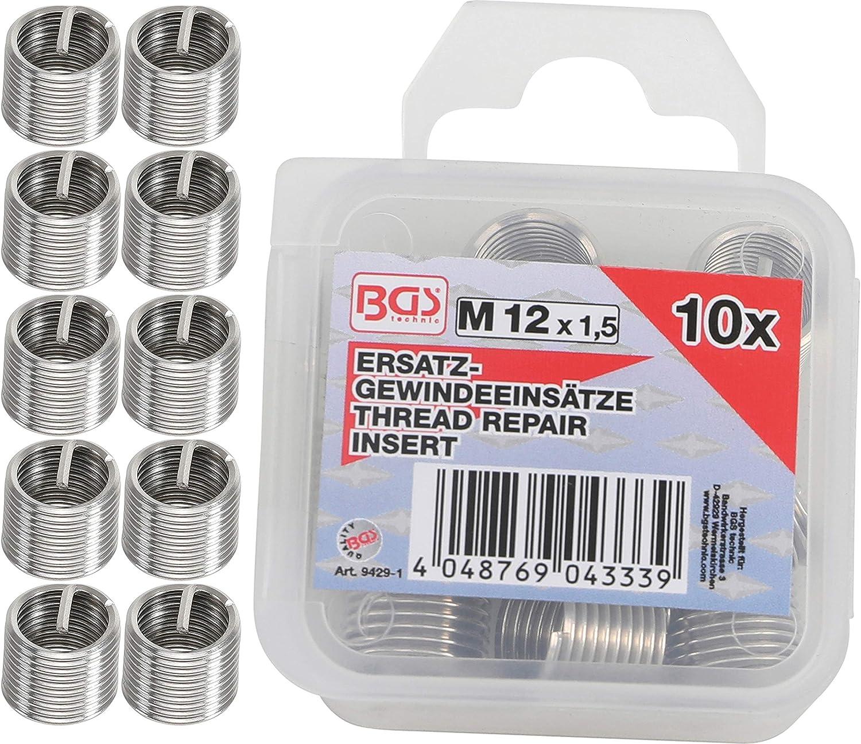 BGS 9434-1 5-tlg. M20 x 1,5 mm Ersatz-Gewindeeins/ätze