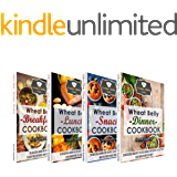 Wheat Belly Cookbook Bundle: The Best-Of The Essential Kitchen Series Wheat Belly Recipes: Over 100 Delicious Grain-Free Recipes to Help You Lose Weight and Feel Great