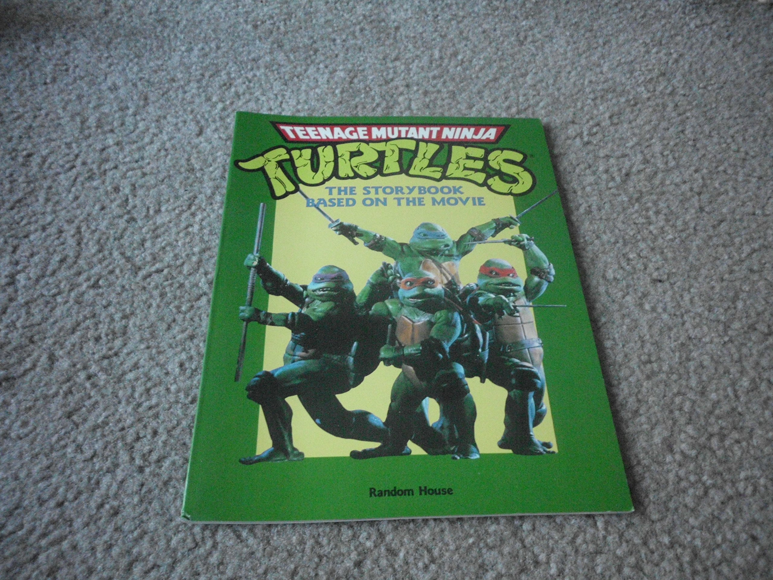 teenage mutant ninja turtles storybook based on the movie ...