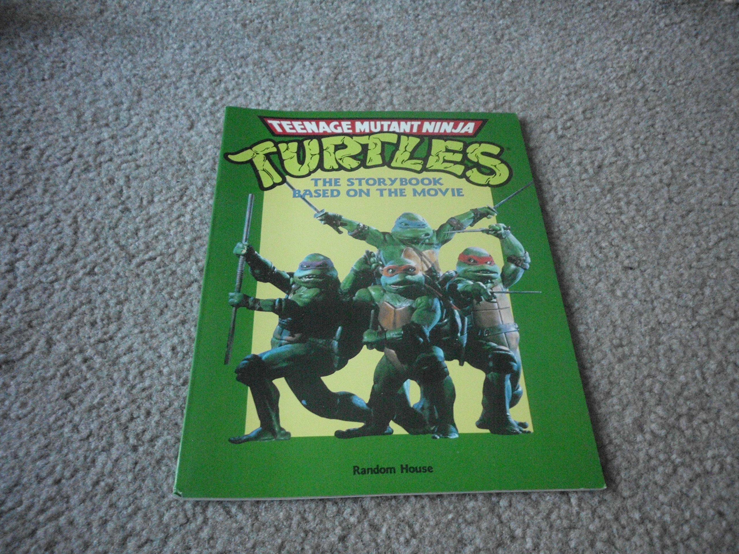 teenage mutant ninja turtles storybook based on the movie ...