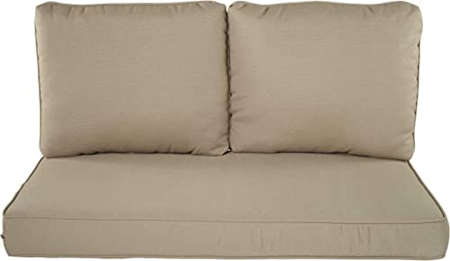 Quality Outdoor Living 29-KH46LV Loveseat Cushion