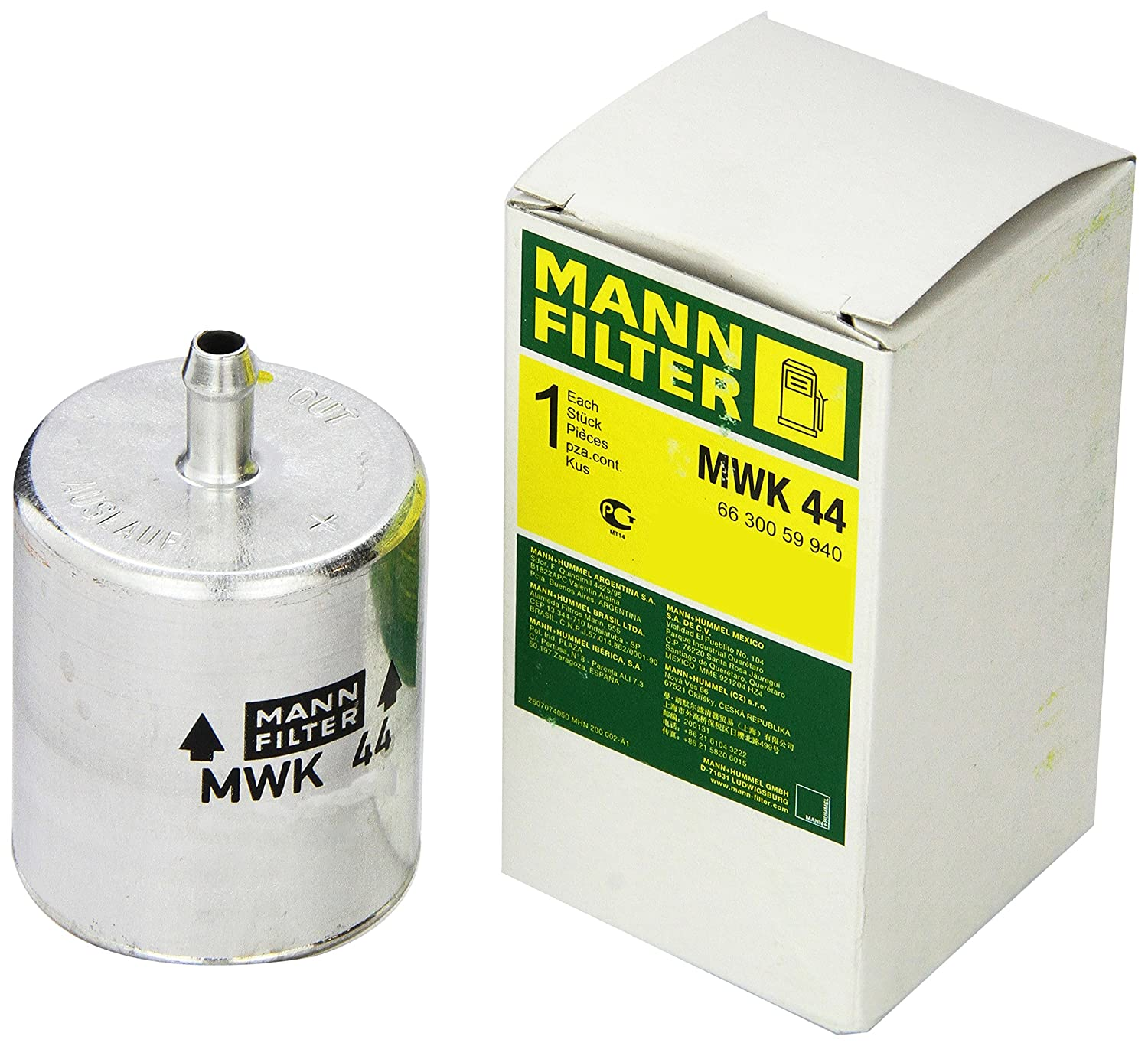 Amazon.com: Mann Filter MWK 44 Fuel Filter for BMW Motorcycle: Automotive