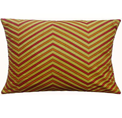 Buy Polyester Pillow Cover Yellow Decorative Bed Pillowcase Enchanting Yellow Decorative Bed Pillows