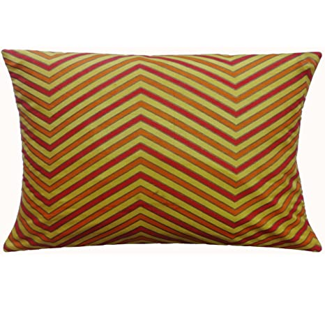 Buy Polyester Pillow Cover Yellow Decorative Bed Pillowcase