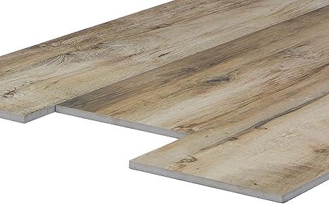 Pavimento di piastrelle con il reticolo di legno u foto stock