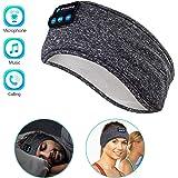 Sleep Headphones Wireless, Perytong Bluetooth Sports Headband Headphones with Ultra-Thin HD Stereo Speakers Perfect for…